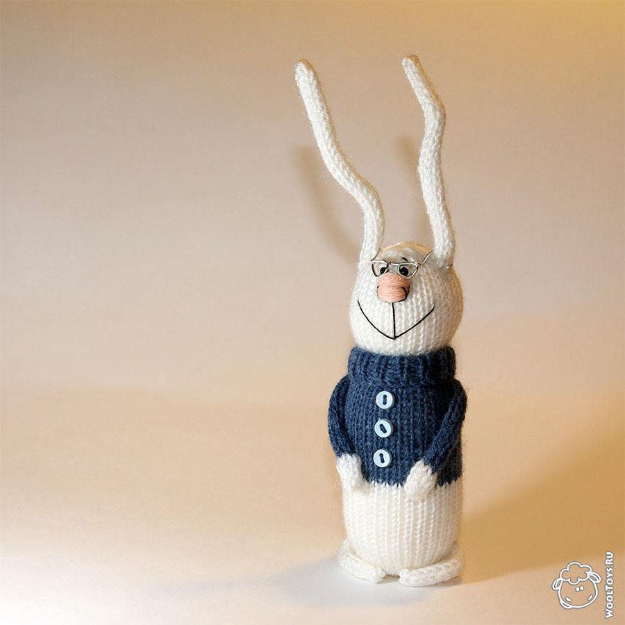 Зимние зайцы - Вязаные игрушки - Заказать и купить мягкие ...