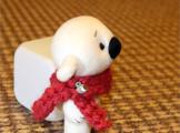 Игрушка белый полярный мишка