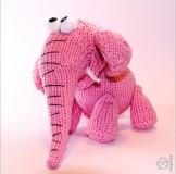 """Игрушка """"Розовый слон"""""""
