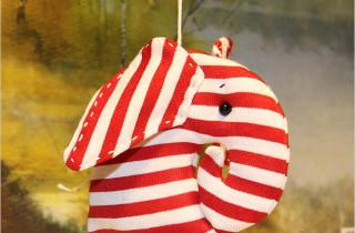 Ёлочные украшения: слоны