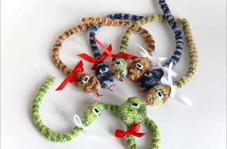 Змейки миниатюрные