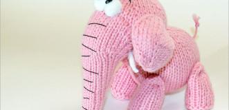 Игрушка Розовый Слон