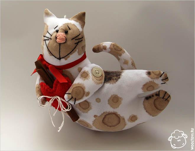 Кофейный кот