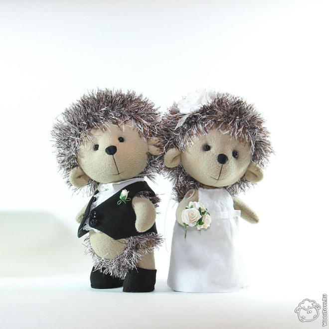 Свадебные ежи